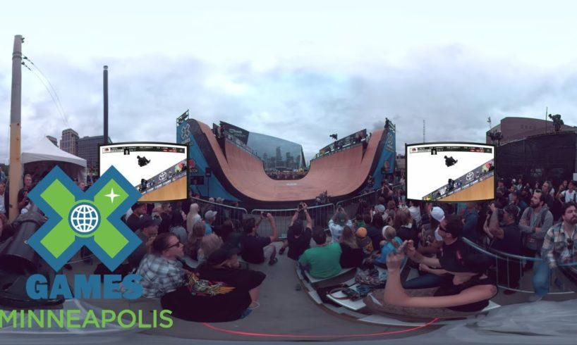 Virtual Reality: Skate Vert Highlights   X Games Minneapolis 2017