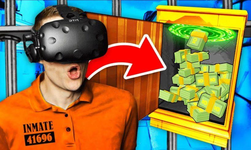 Making INFINITE MONEY In Virtual Reality PRISON (Prison Boss VR Funny Gameplay)