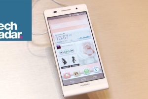 World's slimmest smartphone: Huawei Ascend P6 first look