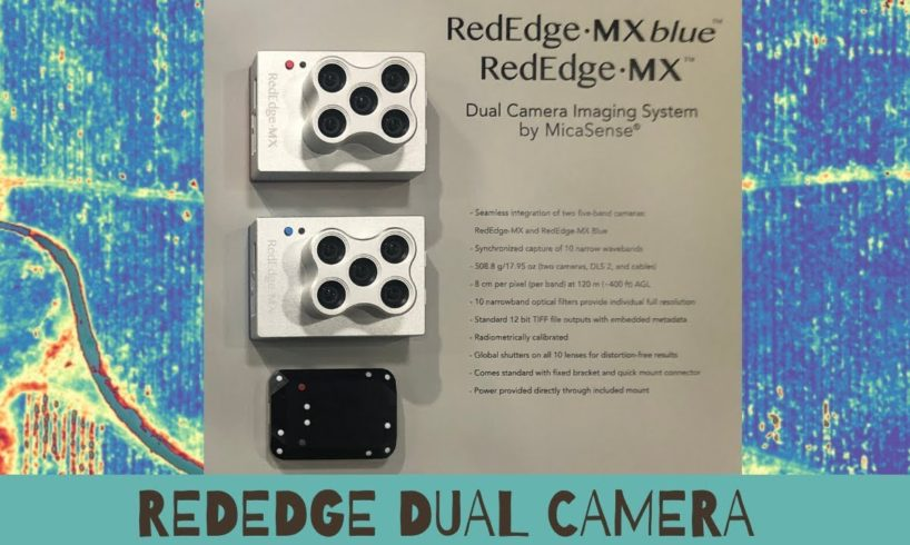 Micasense Rededge Dual Camera System for Drones