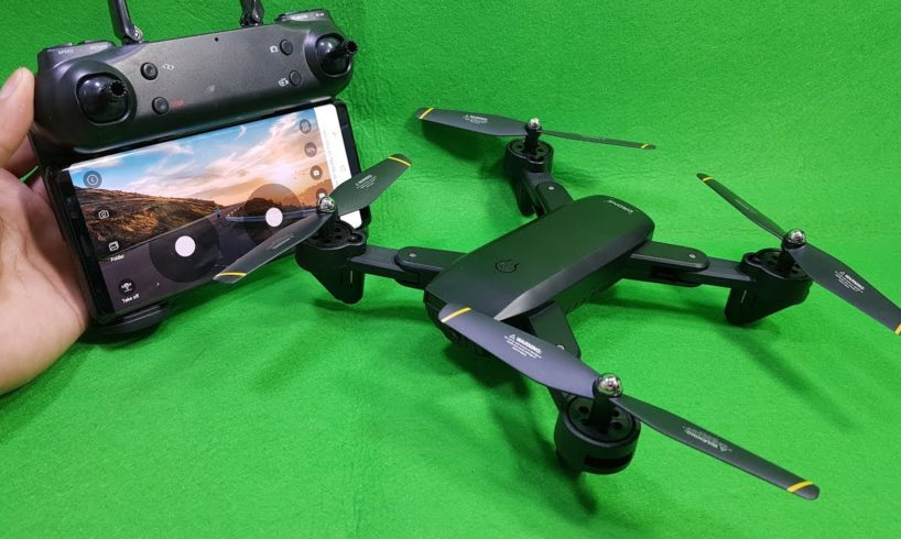 Test and Review SG700 Wifi FPV Drone - Dual Camera