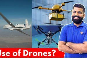 Top 10 Drone Applications - Underwater Drones - Drones in India?