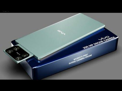 Vivo Flying camera phone, 200MP | World First flying Drone camera phone