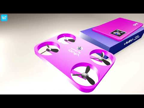 World FIRST Flying Drone Camera Smartphone #vivo #vivodronemobile #vivodronephone