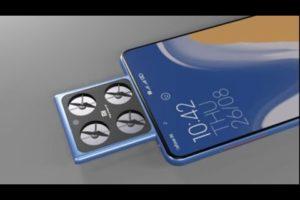 Xiaomi Flying Camera Phone, 200MP, World First Flying Drone Camera,6000mAh, 12GB Ram & 512GB Rom||