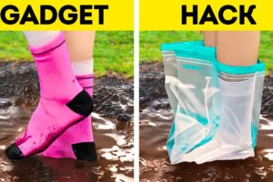GADGETS VS. HACKS || Fast And Useful Ways To Solve Any Problem || Camping, Kitchen And Parenting
