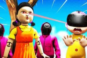 Winning EVERY SQUID GAME In VR BABY SIMULATOR