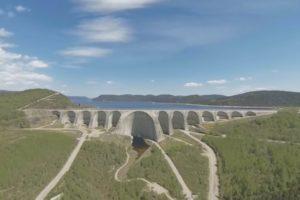 Virtual reality tour of a hydropower dam [360 video 4K]