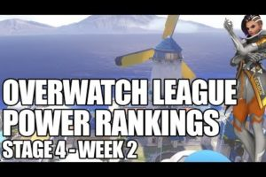 Overwatch League power rankings Stage 4, Week 2 | ESPN Esports
