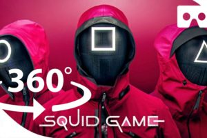 Experience Squid Game Recreation in Virtual Reality | 360° VR Video