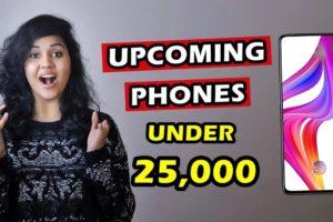 Top 5 UPCOMING PHONES in NOVEMBER 2021 under 25000