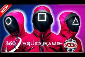 360° VR Squid Game: Red Light Green Light in Virtual Reality Experience