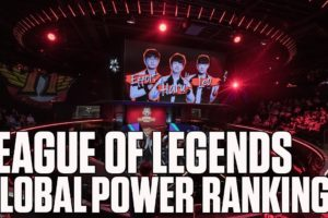 League of Legends top 5 global power rankings through August 6 | ESPN Esports