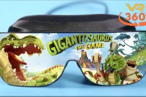 Gigantosaurus The Game VR 360° 4K Virtual Reality Gameplay