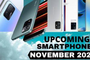 Top 5 Upcoming Smartphones in November 2021