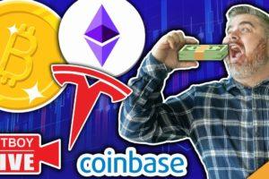 Coinbase To Relist XRP!?!?! (Tesla Accepting Bitcoin Again)