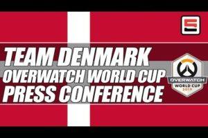 Team Denmark Overwatch World Cup Press Conference | ESPN ESPORTS
