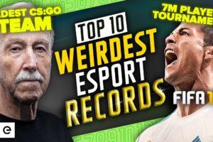 Top 10 Weirdest Esports Records that ACTUALLY Exist