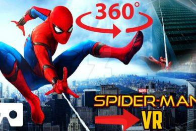 360° SPIDERMAN Virtual Reality Experience