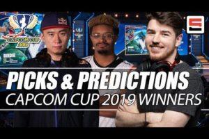 Who will win Capcom Cup 2019? - Bracket breakdown with Sajam   ESPN Esports
