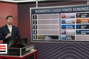 Overwatch League power rankings through Stage 2, Week 4   ESPN Esports