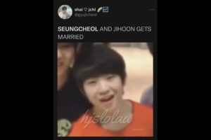 SEVENTEEN vines because Woozi's drone camera song made a comeback