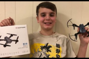 SNAPTAIN A10 Mini Foldable Drone/Camera Unboxing And Review!
