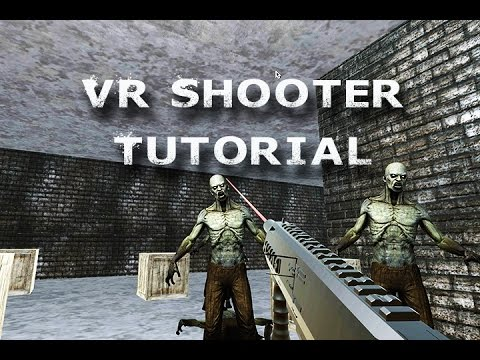 How to Virtual Reality App FPS Game for Beginners with Unity