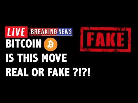 Bitcoin trading real or fake