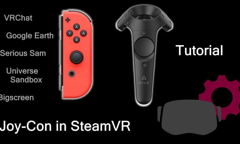 Joy-Con in Virtual Reality Steam VR – Tutorial – Tech News Fix