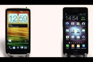 HTC One X vs Galaxy S2 - Speed Tests processor, camera, browsing