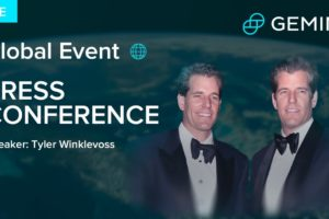 Gemini Exchange: Bitcoin Tyler & Cameron Winklevoss GIGANTIC Explode BTC/USDT, Altcoins Market