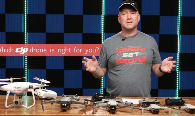 DJI Drone Comparison - A Beginner Guide To DJI Consumer Camera Drones