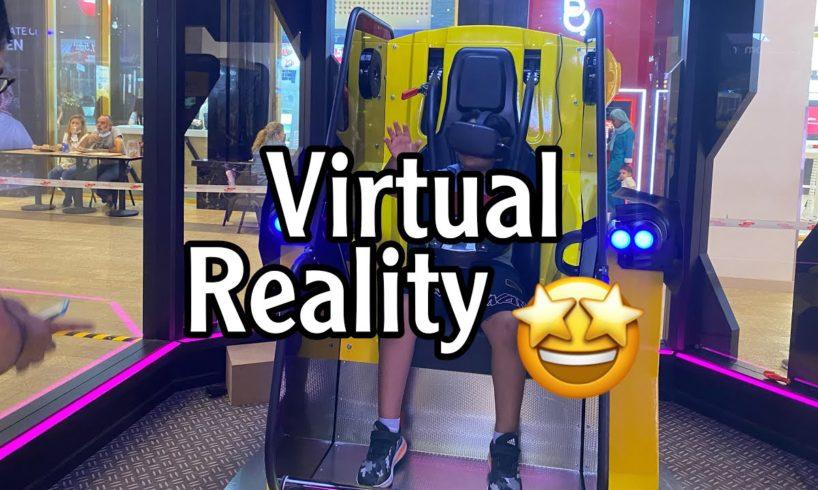 Virtual reality games/ Bahrain avenues/ 7+ games / transformers VR / transformer