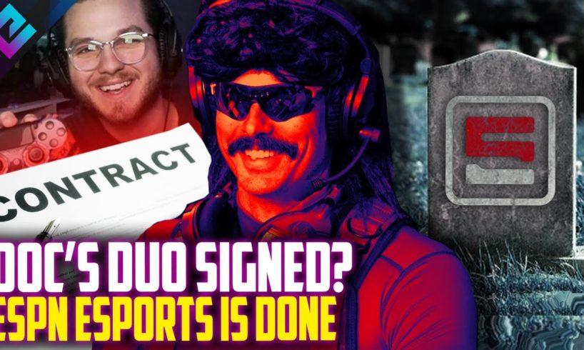 Dr Disrespect Partner GETS OFFER, ESPN Esports Shutting Down