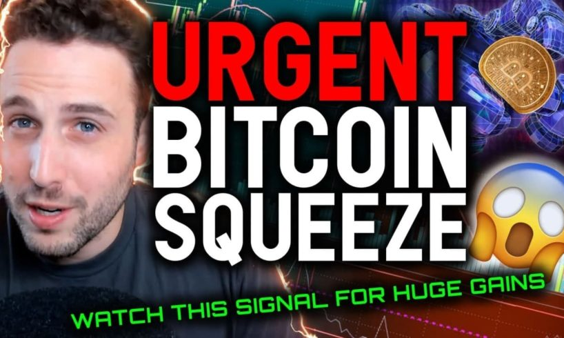 BITCOIN ENTERING MOST CRITICAL MOMENT!! (Actually Urgent)