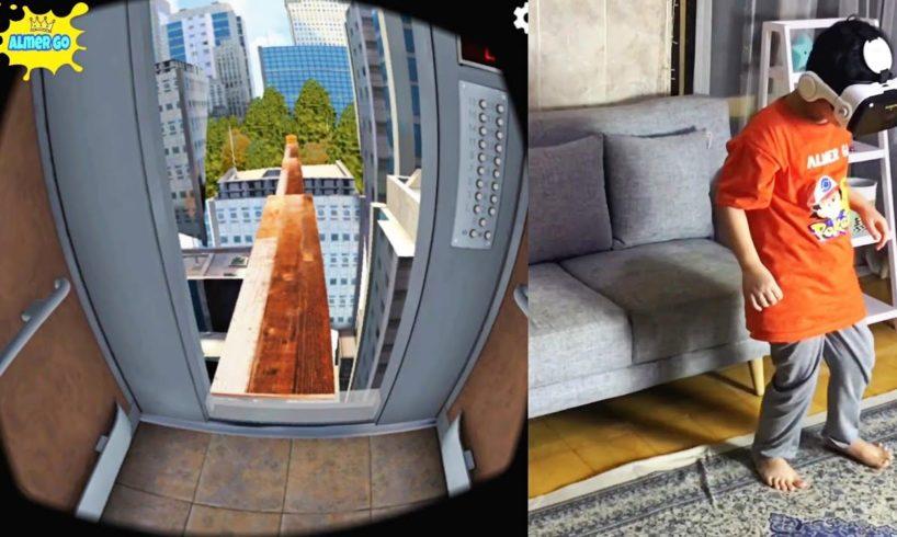 Almer Mainan VR di Suatu Gedung yang Tinggi - Virtual Reality Game