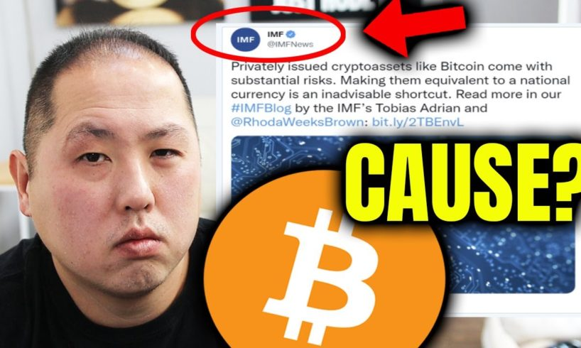 THE CAUSE OF THE BITCOIN CRASH
