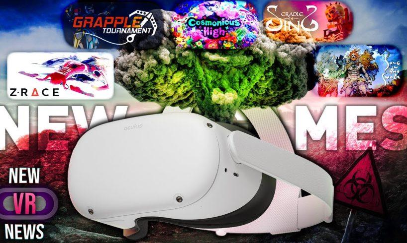 So MANY New VR Games - New VR News