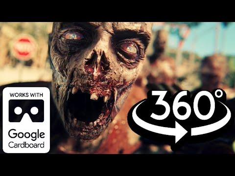 360 Video of ZOMBIE OUTBREAK VR (Part 1) Virtual Reality