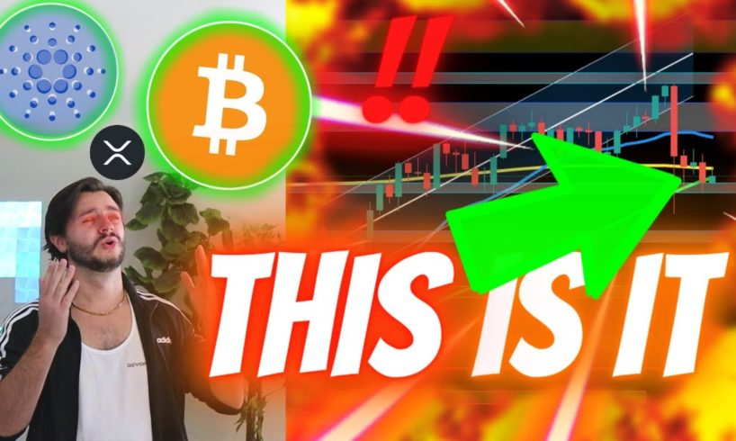 BITCOIN - THIS IS IT! CARDANO FAKEOUT OR SHAKEOUT?? XRP WINNING BIG! [Do NOT Watch If You're SCARED]