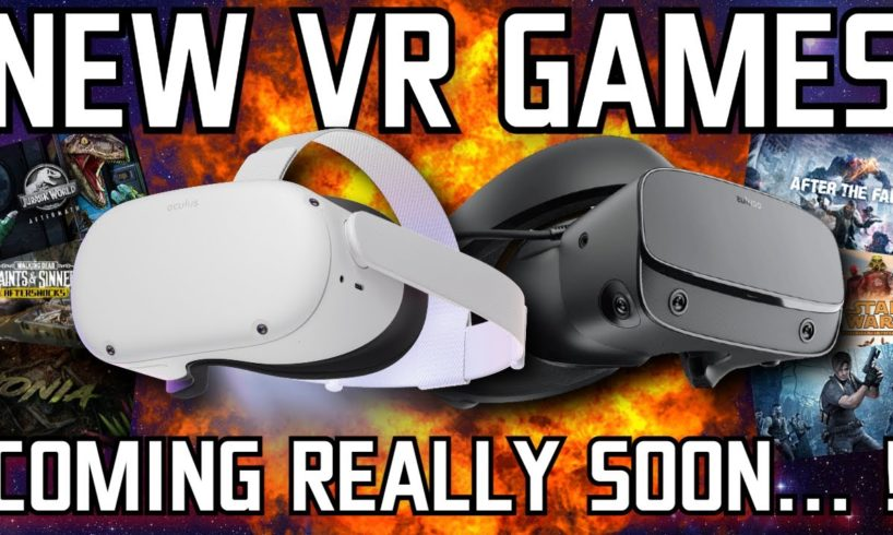 There are TONNES of NEW VR games coming SOON! // Oculus Quest, PC VR & PSVR