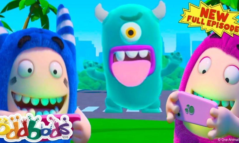 Oddbods Playing A Virtual Reality Game | NEW Full Episode | Cartoon for Kids