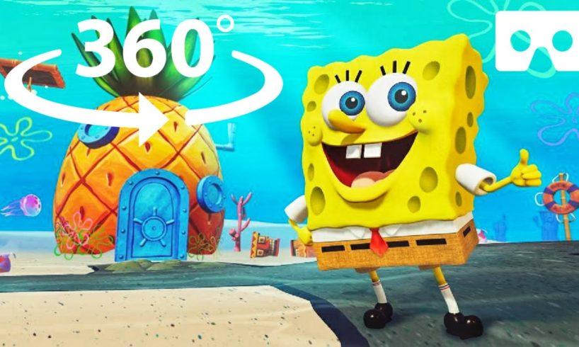 360° SpongeBob SquarePants: Battle for Bikini Bottom - Rehydrated The Beginning in VR