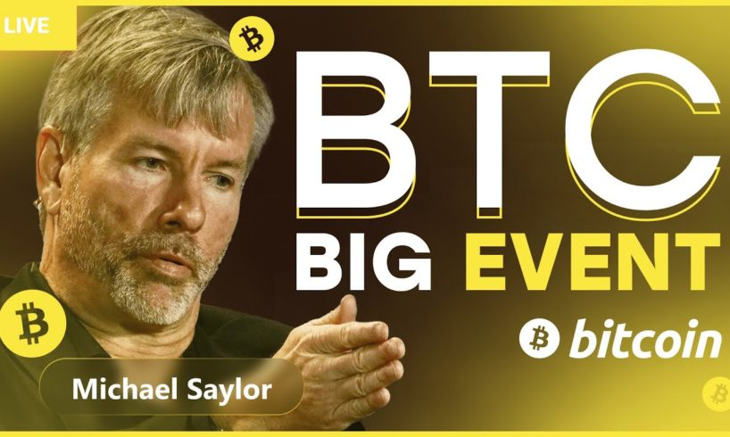 Michael Saylor: We expect $300,000 per Bitcoin in the end of September! BTC/ETH NEWS