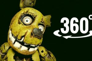VR video 360° | FNAF Five Nights at Freddy's Help Wanted Virtual Reality 4K