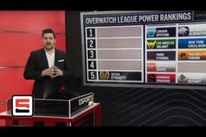 Overwatch League Power Rankings season 2 through week 2 | ESPN Esports