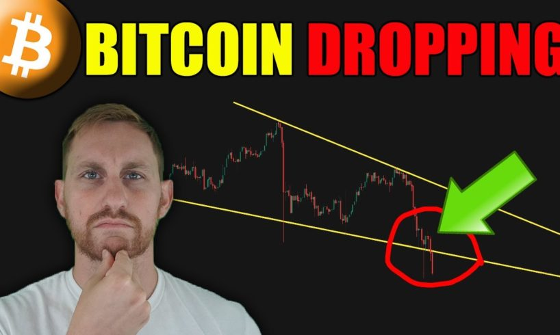 BITCOIN DROP CONTINUES, WHERE IS SUPPORT?