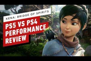 Kena: Bridge Of Spirits PS5 vs PS4 Performance Review