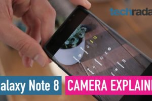Samsung Galaxy Note 8 camera explained